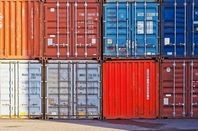 حاويات الشحن البحري من تركيا