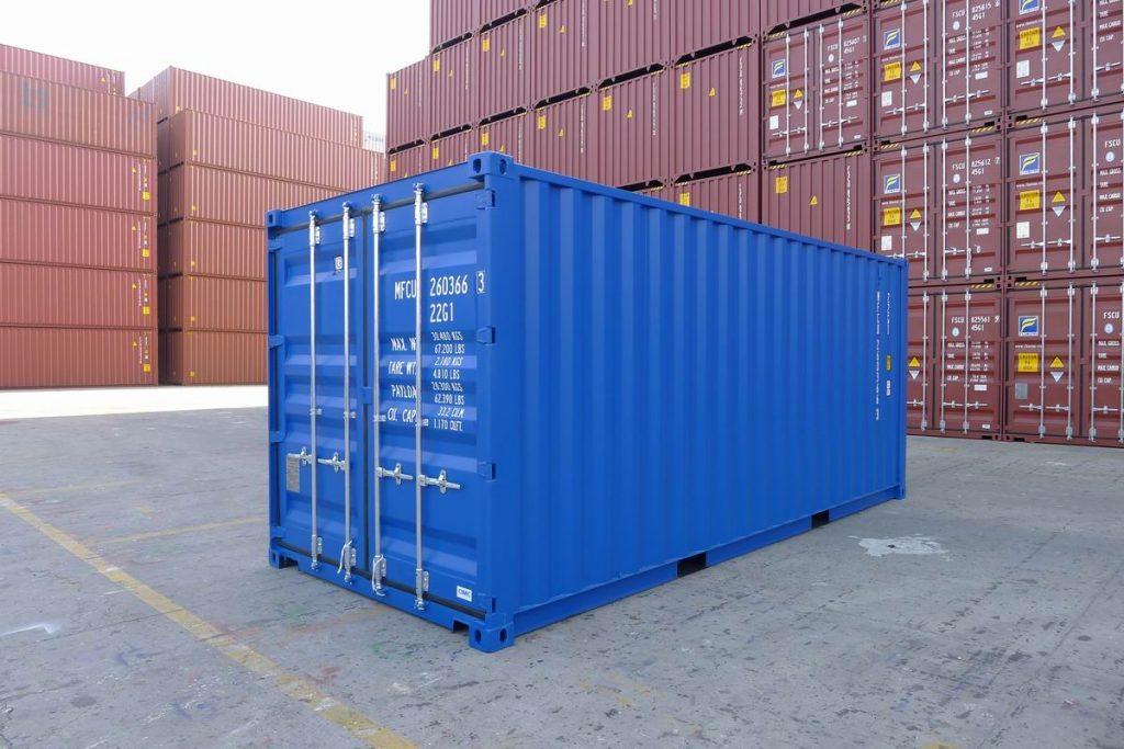 أنواع الحاويات للشحن البحري من تركيا